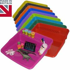 2 x Children Large Plastic Colour Mixing Play Tray Toy Sand Pool Pit Water Game