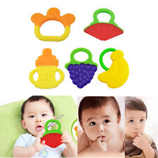 Awesome Glister Baby Infant Safety Teeth Stick Teether Rear Molar Silicone WKAU