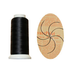 """Nylon Hair Track Weft Weave Sew Thread + Needle """"J+I+C"""" For Clip In Extensions"""