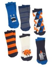 GYMBOREE ARCTIC EXPLORER 6-pr OF ASSORTED BOYS SOCKS 6 12 24 2 3 4 5 NWT