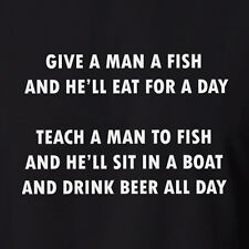 Funny Men's Fishing Beer Aussie T-shirt Fish Tank Top Boat Clothing  5XL