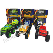 Blaze And The Monster Machines Die Cast Cars Trucks Vehicles Nickelodeon Toys