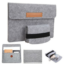 Leather Sleeve Case Bag Pouch Cover for Laptop 10''-15'' iPad Macbook Pro / Air