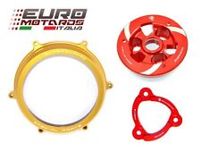 Ducati Panigale 1199 Ducabike Clutch Cover Gold+Spring Retainer+Pressure Plate