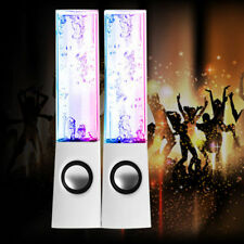 USB LED WATER DANCING SPEAKERS MUSIC FOUNTAIN LIGHT IPHONE IPOD IPAD PC GIFT