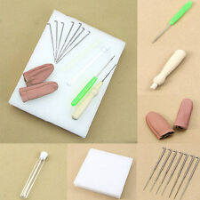 1Set Needle Felting Starter Kit Wool Felt Tool Mat+Accessories Craft+Needles (2)
