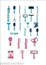 Ancol Dog Cat Grooming Ergo Products Clippers Comb Brush Tick Blade Scissors
