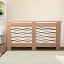 Large Size Traditional Modern Radiator MDF Wall Cabinet Cover Wood Unpainted UK