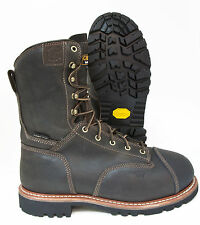 Carolina Men's Black Leather GORE-TEX Composite Toe Work & Safety Boots 7535