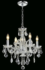 "4-light Clear Crystal chandelier chrome /gold pendant lamp D:18""xH:18"""