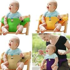 Baby Infant Dining Chairs Safe Belt Strap Harness Travel Feeding Booster New