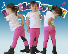 Little Lyndi Kids Lolly Pink/Purple Jodhpurs - Sizes 0-3