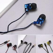 In-Ear 3.5mm Earphone Earpods Earbuds Headset HeadPhone For Cellphone Mp3 Mp4