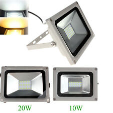 10W / 20W outdoor led flood light SMD Cool Warm White Floodlight Lamp AC100-240V