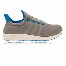 Adidas CC Sonic Mens Grey Blue Cushioned Running Sports Shoes Trainers
