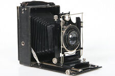 Burleigh Brooks. 9x12 Folding Plate Camera - vintage, collectors display