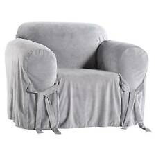 Microfiber Velvet Slipcover Chair