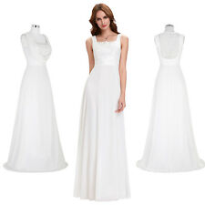 New Long Chiffon Bridesmaid Dress Formal Party Evening Prom Wedding Ball Gown
