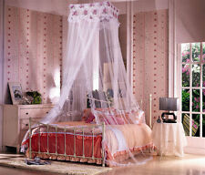 Square Princess Bed Canopy Netting Hanging Mosquito Net for Twin Queen King