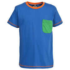 Trespass Baylor Boys T-Shirt Short Sleeve Tee Cotton Top