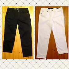 Calvin Klein Womens Power Stretch Skinny Cropped Pants / Capri ~ New with Tags!