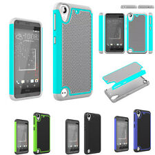 Hybrid Armor Shockproof Rugged Rubber Hard Case For HTC Desire 530/Desire 630