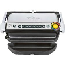 T-Fal OptiGrill Electric Grill MANUAL MODE Only NO Drip Tray (Stainless Steel)