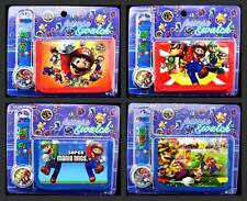 Wholesale Super Mario Bros Wristwatch watch and Purses Wallets Party Gifts D28