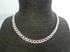 "New Solid Sterling Silver Heavy Rollerball Chain 18"",20"",22"",24"",26"" & 30"""