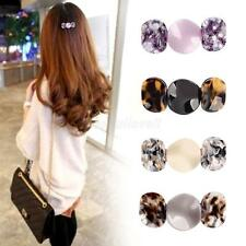 New Elegant Hair Barrette Acetate Hair Clip Headwear Women Girl Jewelry Gift