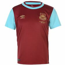 Authentic Umbro West Ham United Junior Home Shirt 2015-2016