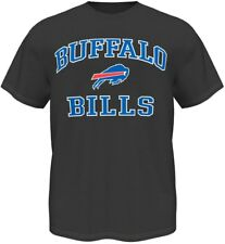 Buffalo Bills Majestic NFL Heart & Soul III Charcoal Men's T-Shirt
