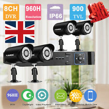 4CH/8CH Digital NVR System Wireless 720P Outdoor Camera CCTV DVR Rideo Recorder