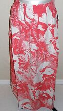 ROXY Women's Coral Floral Print Maxi Skirt Size S