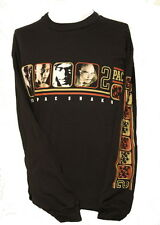 NEW! Men's Tupac Shakur Vintage Long Sleeve Shirt - 2 Pac - XL