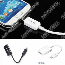 MHL 2.0 AV HDMI HDTV Adapter Cable For Samsung Galaxy S3 I9300 Note 2 S4 I9500 Y