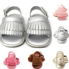 Baby Girls Tassel Sandals Toddler Shoes Princess First Walkers Kid Soft Shoes