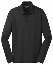 Port Authority Silk Touch Dri-Fit Long Sleeve Polo Shirt New S-4XL Golf. K540LS