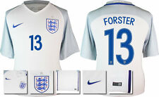 *2016 - NIKE ; ENGLAND HOME SHIRT SS / FORSTER 13 = KIDS SIZE*