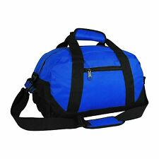 Duffle Bag Two-Tone Sports Gym Travel Luggage Weekender Bags Multi-Color, 18""