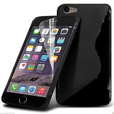 S-Line Slim TPU Wave Gel Rubber Phone Case Cover for Apple