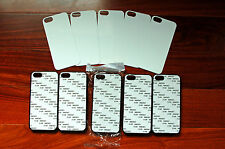 100  cases iPhone 4/4S  iphone 5/5S Cases cover Blanks Sublimation black/white