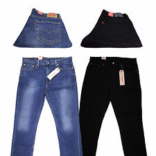 New Levis 511 Jeans Authentic Slim Skinny Regular Fit Mens Many Colors Sizes