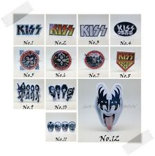 Kiss Rock Band Sticker Decal Vinyl Logo Music Hard Rock Heavy Metal Car Window