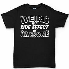 Weird Awesome Geek Nerd Retro Funny Mens T shirt Tee Colours Sizes