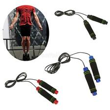 Professional Skipping Rope Foam Handle Boxing Fitness Exercise Gym Jumping Ropes