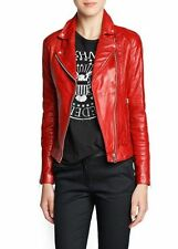NEW Womens 100% Leather Lambskin Jacket Coat, Made to your Measurements - WJ3