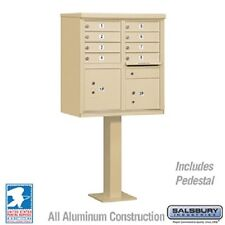 8 Salsbury Door Cluster Mailbox - USPS Approved - Free Shipping and Engraving!