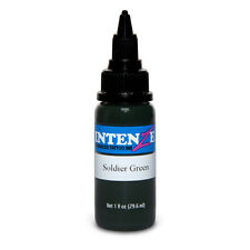 Soldier Green - Intenze Tattoo Ink - Pick Your Size 1oz, 2oz, or 4oz Bottle