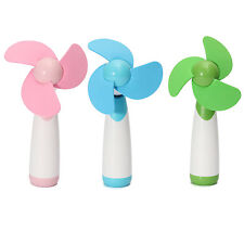 HE607 Portable Handheld Mini Cooling Cool Fan Super Mute Battery Operated